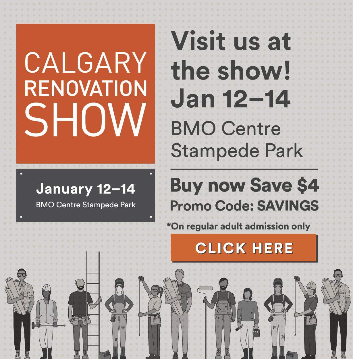 Calgary Home And Design Show Promo Code